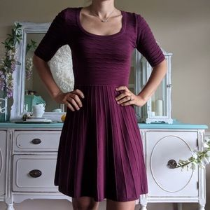 Xhilaration Pleated Sweater Dress